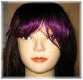 Human Hair Fringe - Short Model - Clip In
