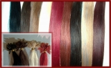 50x 60cm Human Hair Strands with U-Tip Bonding  24 - straight je 0,5 g, total 25g