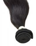 Virgin Echthaar Tresse - 45cm, glatt - unbehandelt/chemiefrei